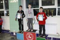 Дмитрий Коч III место на дистанции 50 м на спине